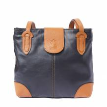 Medium shoulder soft calf-skin leather bag