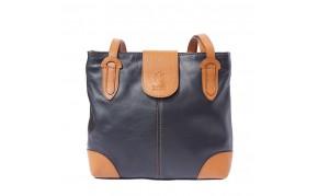 Medium shoulder soft calf-skin leather bag
