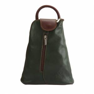 Michela leather Backpack