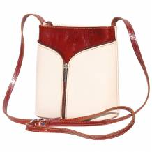 "Patent leather cross body bag ""FLORENCE"""