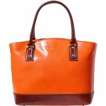 "Hard calf leather ""Tote"" handbag"