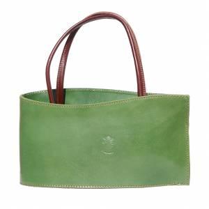 Nano leather handbag