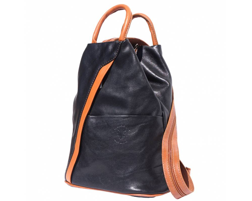 Backpack Purses Bag Italian Genuine Leather Hand Made In