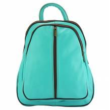 Ghita leather backpack