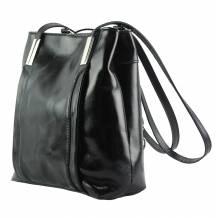 Lidia leather shoulder bag