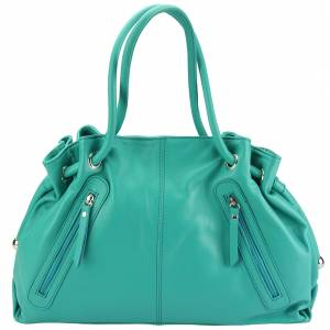Elisabetta Shoulder calf-skin leather bag