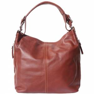 Betta leather shoulder bag