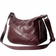 Giada leather shoulder bag