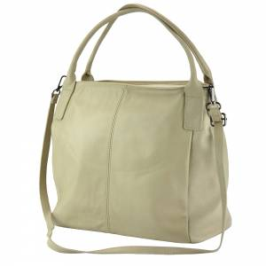Kentia leather shoulder bag