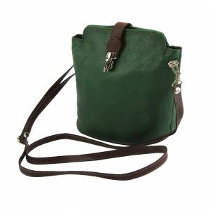 Clara leather Cross-body bag