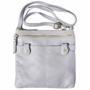Wanda leather cross body bag