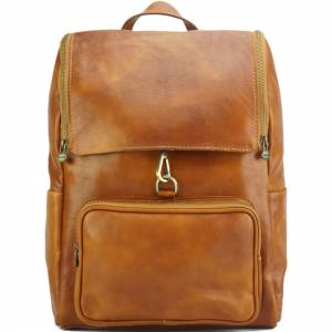 Connor Backpack in leather