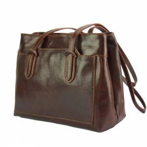Eleonora leather shoulder bag