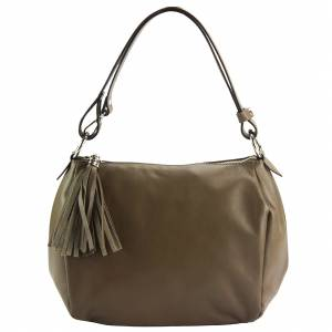 Luisa leather shoulder bag