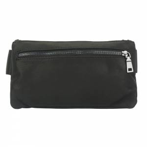 Waist bag in leather Vivaldo