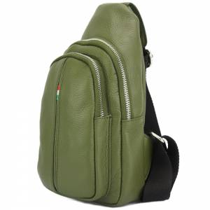 Nissim Leather Single backpack