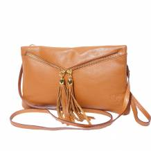 Small soft leather clutch and wristlet