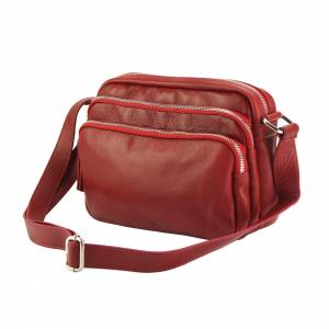 Assunta leather shoulder bag