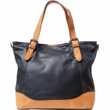 Milena leather Tote bag