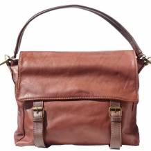 Freestyle leather shoulder bag