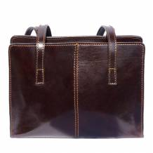 Business shoulder bag with double handle