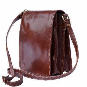 Mirko leather Messenger bag