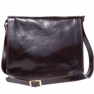 Mirko GM leather Messenger bag
