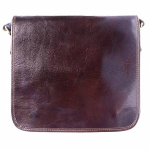 Christopher Messenger bag in cow leather