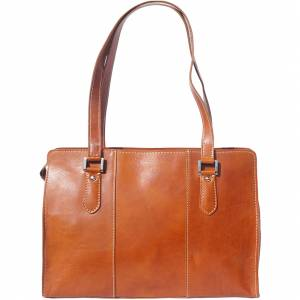 Verdiana leather shoulder bag