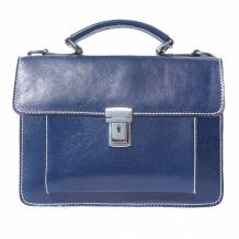 Mini briefcase with two compartments and a front pocket