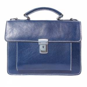 Lucio Mini leather briefcase
