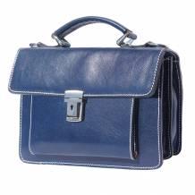 Lucio Mini leather briefcase
