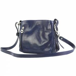 Viviana V GM leather shoulder bag