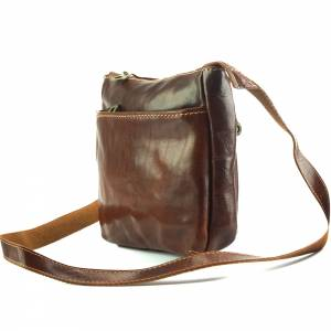 Vito cross body leather bag