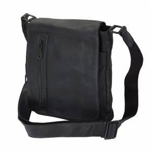 Igor Messenger Flap leather bag