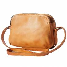 Cross-body bag Twice in vintage calf leather