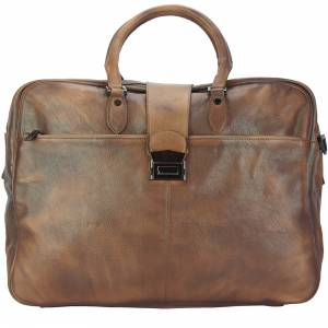 Travel bag Raimondo in vintage leather