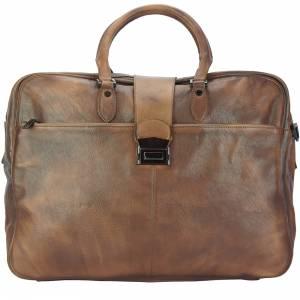 Reisetasche Raimondo aus Vintage Kalbsleder