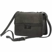 Shoulder flap bag Kléber by vintage leather