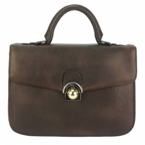 Very GM Leather Hand-bag