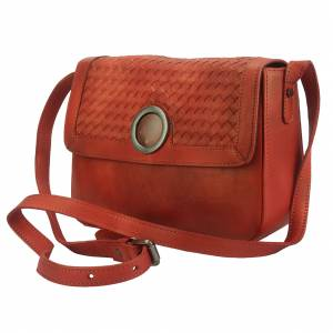 Shoulder flap bag Luna GM by vintage leather