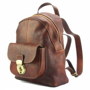 Discovery Backpack in cow leather