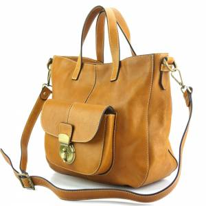 Duomo leather shoulder bag
