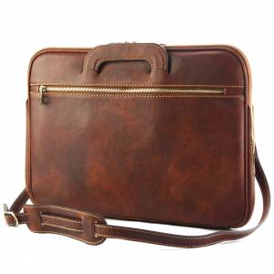Porte-Documents Jour in Italian Vacchetta leather