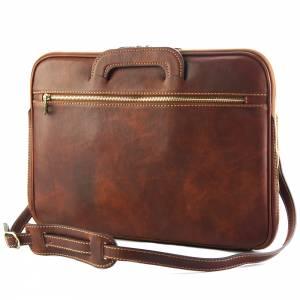 Porte-Documents Jour in Italian Vacchetta leather