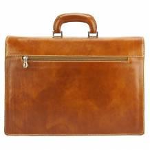 Dalmazio Leather Briefcase