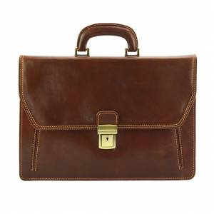 Sergio leather Mini briefcase