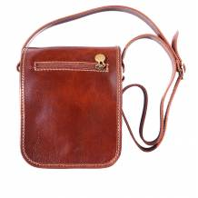 Cross body shoulder bag with long strap for man