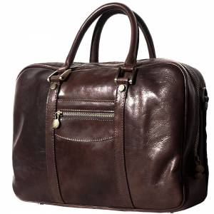 Gianpaolo leather briefcase