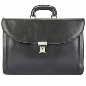 Corrado Leather Briefcase